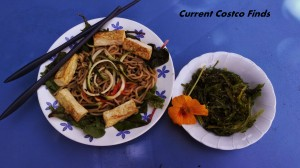 Noodles and seaweed 1